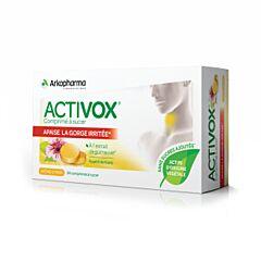 Activox Keelpijn/ Droge Hoest Citroen 24 Zuigtabletten