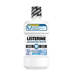 Listerine Advanced White Bain de Bouche Goût Doux Flacon 500ml
