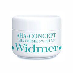 Louis Widmer AHA-Concept Crème 5% Zonder Parfum 50ml