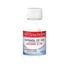 Mercurochrome Alcool 70° Lavande Flacon 100ml