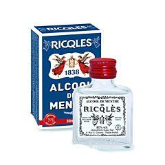 Ricqles Alcool de Menthe 80% Vol. Flacon 30ml
