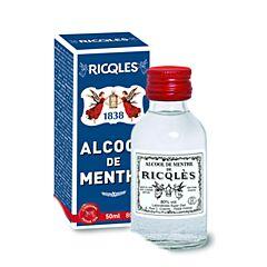 Ricqles Alcool de Menthe 80% Vol. Flacon 50ml
