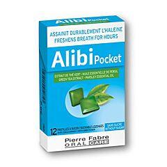 Alibi Pocket Mauvaise Haleine 12 Pastilles à Sucer