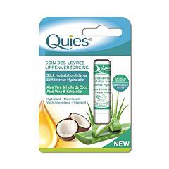 Quies Lippenverzorging Aloë Vera & Kokosolie Stick 4,5g