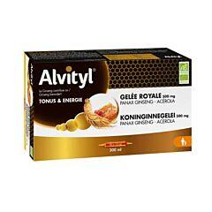 Alvityl Gelée Royale 500mg Tonus & Energie 20 Ampoules x 15ml