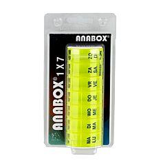 Anabox Pildoos Week Geel 1 Stuk
