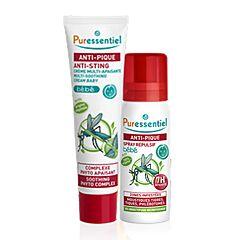 Puressentiel PROMO PACK Bébé Anti-Pique Spray Répulsif 60ml + Crème Multi-Apaisante Tube 30ml -30%