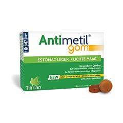 Antimetil Lichte Maag Citroen/ Munt 24 Gommetjes