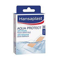 Hansaplast Aqua Protect 20 Pansements Waterproof