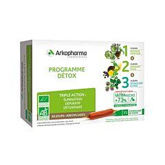 Arkopharma Arkofluides Programme Détox 30 Jours 30 Ampoules
