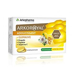 Arkopharma ArkoRoyal Pastilles Adoucissantes Miel Citron 24 Pièces