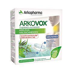 Arkopharma Arkovox Maux de Gorge Menthe Eucalyptus 20 Comprimés à Sucer