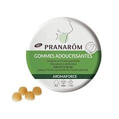 Pranarôm Aromaforce Gommes Adoucissantes Gorges Eucalyptus Bio 45 Pièces