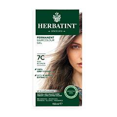 Herbatint Soin Colorant Permanent Cheveux 7C Blond Cendré Flacon 150ml