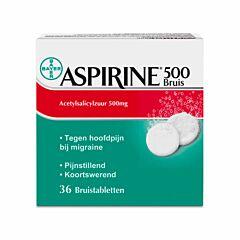 Aspirine 500mg 36 Comprimés Effervescents