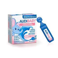 Audibaby Hygiène de lOreille Bébé 0-3 ans 10 Unidoses x 2ml