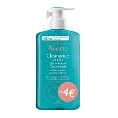 Avène Cleanance Reinigingsgel 400ml Promo -4€