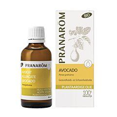 Pranarôm Huile Végétale Avocat Bio Flacon 50ml