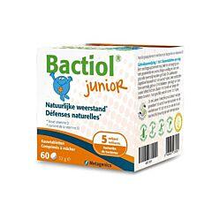 Bactiol Junior Natuurlijke Weerstand 60 Kauwtabletten (Vroeger Probactiol Junior)