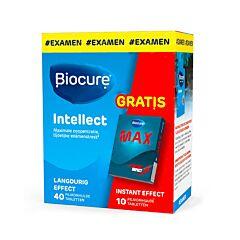 Biocure Intellect 40 Comprimés + GRATUIT Biocure Max 10 Comprimés
