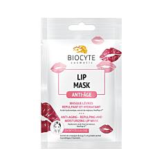 Biocyte Lip Mask Masque Lèvres Repulpant & Hydratant 1 Pièce