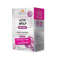 Biocyte Pack ActivAnti-Rides Anti-Âge 90 Gélules PROMO 1 Mois OFFERT