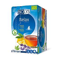 Biolys Relax Tisane Lavande-Citron 24 Infusions