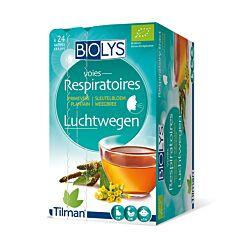 Biolys Voies Respiratoires Primevère Plantain 24 Infusions
