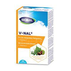 Bional V-Nal Jambes Fatiguées 40 Gélules