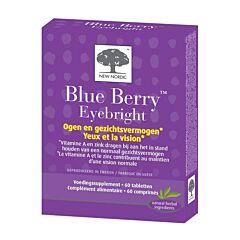 New Nordic Blue Berry Eyebright 60 Tabletten