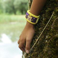 Parakito Kids/ Teens Anti-Muggen Armband Monkey + 2 Navullingen