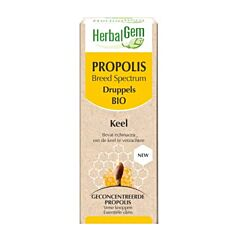 Herbalgem Propolis Large Spectre Bio Gouttes Flacon 15ml