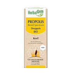 Herbalgem Propolis Large Spectre Bio Gouttes Flacon 50ml
