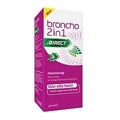 Broncho 2-en-1 Kids Sirop Toux Enfants Goût Orange Flacon 120ml