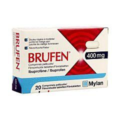 Brufen 400mg 20 Filmomhulde Tabletten