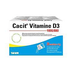 Cacit Vitamine D3 1000mg/880ui Granulés Effervescents 30 Sachets