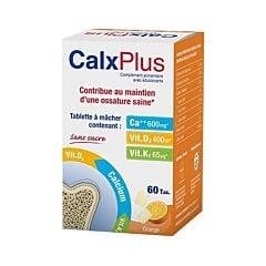 CalxPlus Ossature Saine Goût Orange 60 Comprimés