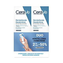 CeraVe Herstellende Handcrème Duopack 2x50ml