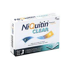 NiQuitin Clear 7mg 14 Pleisters