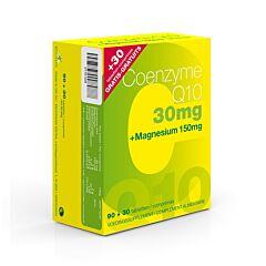 Coenzyme Q10 30mg + Magesium Promo 90 + 30 Tabletten GRATIS