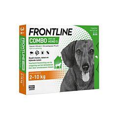 Frontline Combo Line Hond S 2-10kg Vlooien/Teken 3x0,67ml