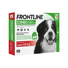 Frontline Combo Line Hond XL >40kg Vlooien/ Teken 6x4,02ml