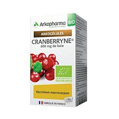 Arkopharma Arkogélules Cranberryne Bio Confort Urinaire 150 Gélules NF