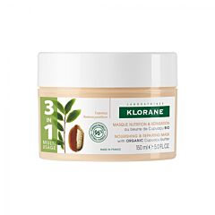 Klorane Masque Nutrition & Réparation au Beurre de Cupuaçu Pot 150ml
