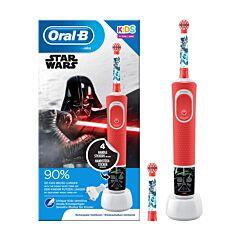 Oral-B Kids D100 Elektrische Tandenborstel Star Wars 1 Stuk + 1 Extra Opzetborstel