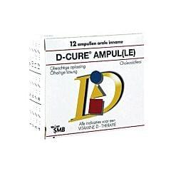 D-Cure 25.000 I.E. 12 Ampoules