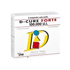 D-Cure Forte 100.000 U.I. 3 Ampoules
