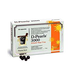Pharma Nord D-Pearls 3000 80 Gélules