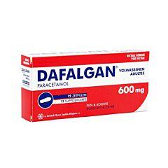 Dafalgan Adultes 600mg 12 Suppositoires
