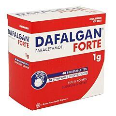 Dafalgan Forte 1g 40 Comprimés Effervescents